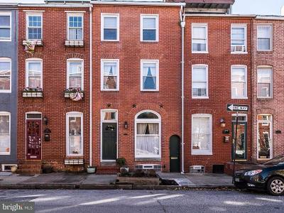 Baltimore Townhouse For Sale: 1250 Riverside Avenue