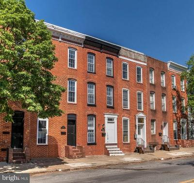 Federal Hill Townhouse For Sale: 1738 Charles Street S
