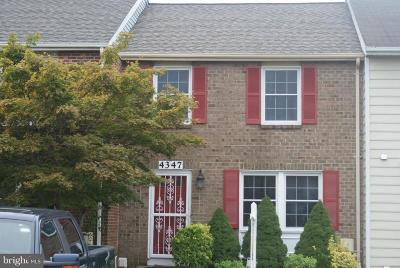 Burtonsville Townhouse For Sale: 4347 Leatherwood Terrace
