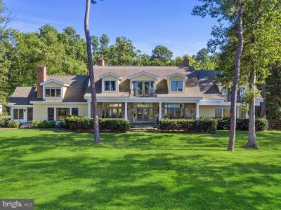 Bozman, Claiborne, Cordova, Easton, Mcdaniel, Neavitt, Newcomb, Oxford, Queen Anne, Royal Oak, Saint Michaels, Sherwood, St Michaels, St. Michaels, Tilghman, Trappe, Wittman, Wye Mills Single Family Home For Sale: 7350 Cabin Cove Road S