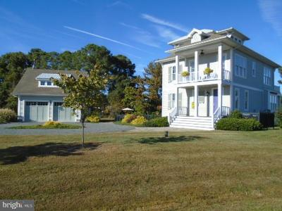 Tilghman, Tilghman Beach, Tilghman Island, Tilghman Island Beach, Tilghman On Chesapeake, Tilghman Quay Single Family Home For Sale: 21388 Ferry Landing Road