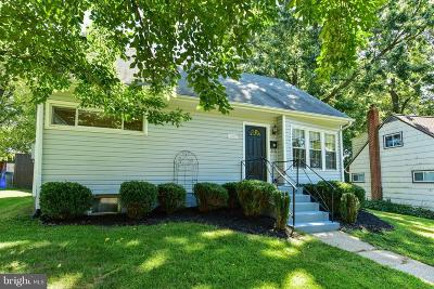 Silver Spring Single Family Home For Sale: 10807 Huntley Place