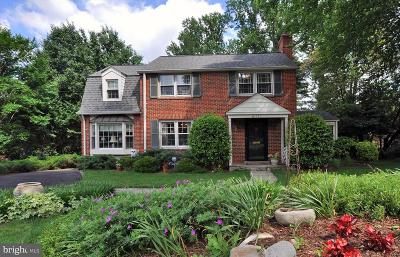 Bethesda Single Family Home For Sale: 6017 Woodacres Drive