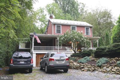 Frederick County Single Family Home For Sale: 3861 Mountain Road