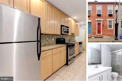 Fells Point Townhouse For Sale: 2022 Portugal Street