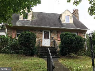 Ewing Single Family Home For Sale: 622 Greenway Avenue
