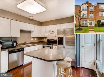 Owings Mills Townhouse For Sale: 5107 Spring Willow Court