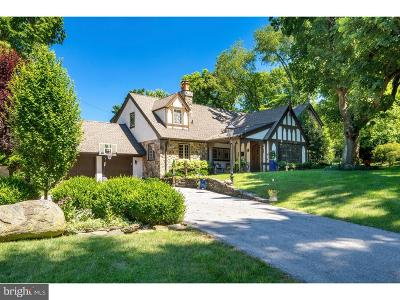 Gladwyne Single Family Home For Sale: 675 Dodds Lane