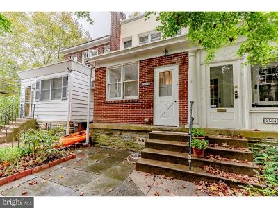 Chestnut Hill Townhouse For Sale: 8502 Ardleigh Street