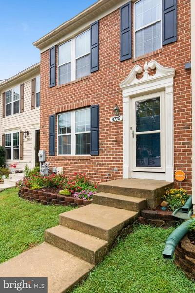 Odenton Townhouse For Sale: 8725 Thornbrook Drive