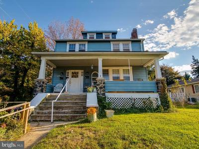 Catonsville Single Family Home For Sale: 6313 Frederick Road