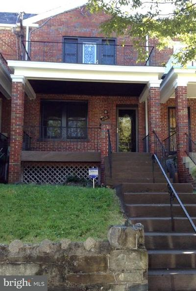 Petworth Townhouse For Sale: 250 Gallatin Street NW