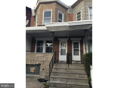 Philadelphia County Townhouse For Sale: 275 W Sheldon Street