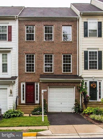 Centreville Townhouse For Sale: 13905 Gothic Drive