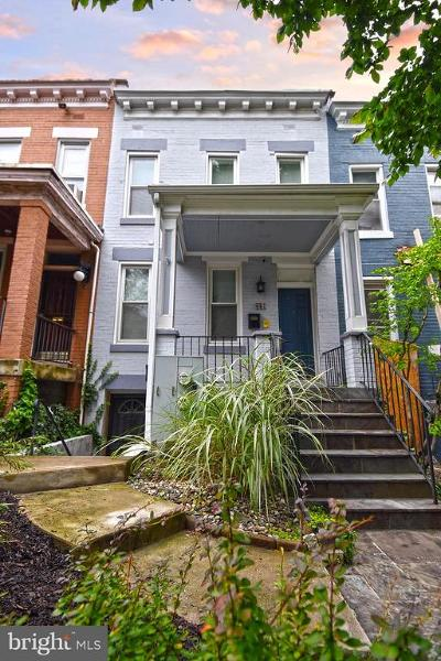 Washington Townhouse For Sale: 621 Columbia Road NW