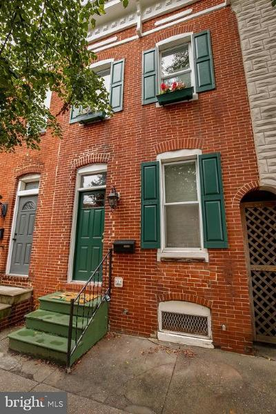 Federal Hill Townhouse For Sale: 1712 Charles Street