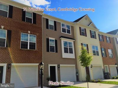 Gettysburg Townhouse For Sale: 21 Winslow Court #88