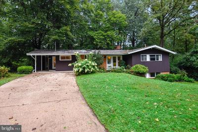 Bethesda Single Family Home For Sale: 8311 Melody Court