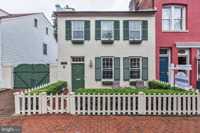 Georgetown Single Family Home For Sale: 1307 35th Street NW