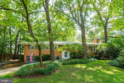 Alexandria Single Family Home For Sale: 6547 Spring Valley Drive