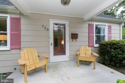 Baltimore Single Family Home For Sale: 728 Overbrook Road
