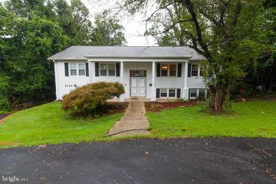 Falls Church Single Family Home For Sale: 3705 Sleepy Hollow Road