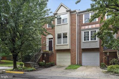 Silver Spring Townhouse For Sale: 11230 Watermill Lane