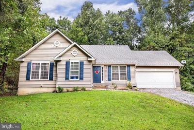 King George County Single Family Home For Sale: 8029 Washington Drive
