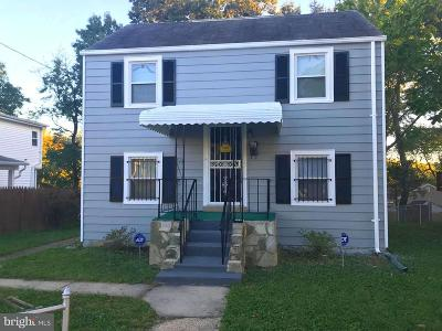 Landover Single Family Home For Sale: 7107 Inwood Street