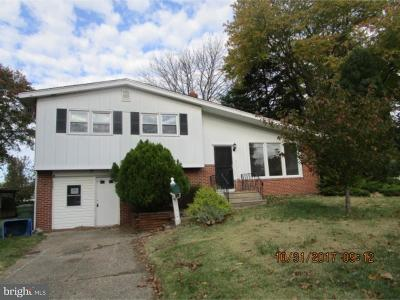 Cherry Hill Single Family Home For Sale: 100 N Valleybrook Road