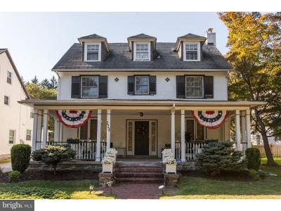 Merion Station Single Family Home For Sale: 228 Valley Road