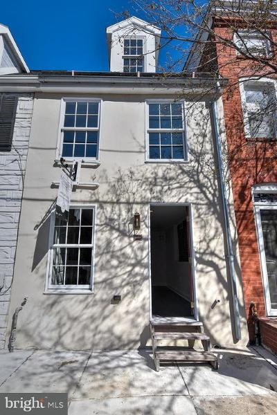 Fells Poi Nt, Fells Point, Fells Point/Hopkins, Fells Pt./Hopkins Townhouse For Sale: 2004 Fountain Street