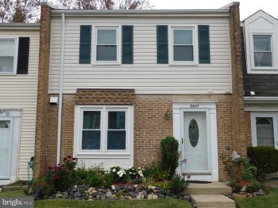 Burke Townhouse For Sale: 5837 Burke Manor Court