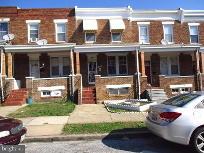 Baltimore Townhouse For Sale: 2750 Pelham Avenue