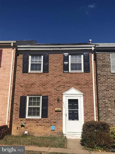 Fredericksburg Rental For Rent: 203 Olde Greenwich Drive