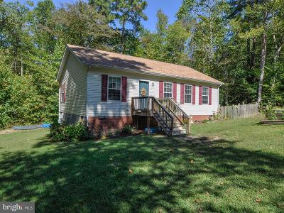Caroline County Single Family Home For Sale: 26168 Metts Circle