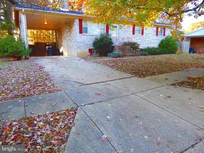 Accokeek Single Family Home Under Contract: 15801 Blackburn Street
