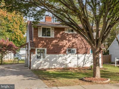 Rockville MD Single Family Home Active Under Contract: $375,000