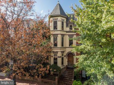 Mount Vernon Square Single Family Home Under Contract: 1114 5th Street NW