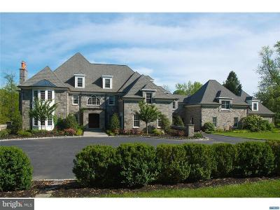 Chadds Ford PA Single Family Home For Sale: $2,999,000