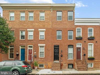 Baltimore Townhouse For Sale: 1519 William Street