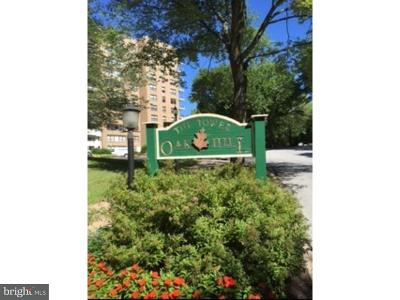 Narberth Condo For Sale: 1600 Hagys Ford Road #10H