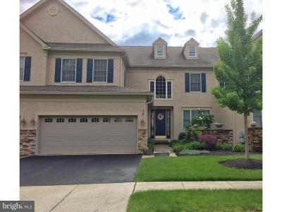 Bucks County Townhouse For Sale: 13 Morgan Hill Drive