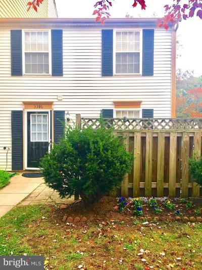 Burtonsville Townhouse For Sale: 3306 Tapestry Circle