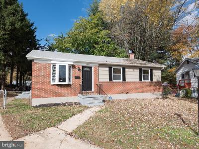 Randallstown Single Family Home For Sale: 3816 Terka Circle