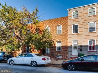 Baltimore Townhouse For Sale: 1009 Linwood Avenue S