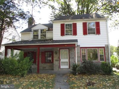 Lansdowne Single Family Home Under Contract: 116 Bryn Mawr Avenue