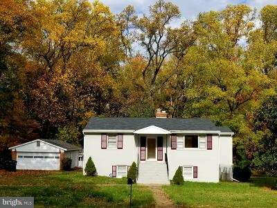 Temple Hills Single Family Home Active Under Contract: 4869 Long View Road