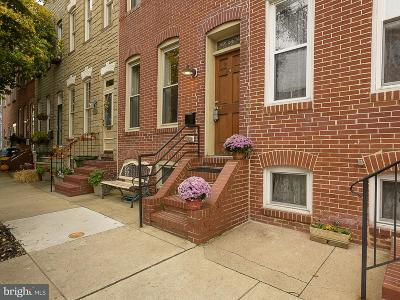 Baltimore MD Townhouse For Sale: $385,000