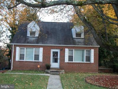 Fort Washington MD Single Family Home For Sale: $250,000